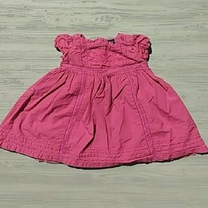 {BabyGAP} Pink Embroidered Toddler Dress